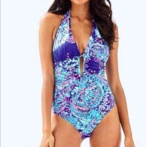 Lily Pulitzer Blue Lanai one piece